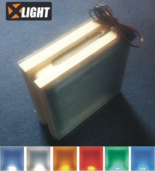 LED svítící tvárnice - HOBBY stavebnice stěny